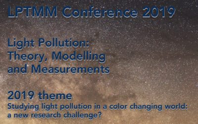 LPTMM Conference 2019: Studying light pollution in a color changing world