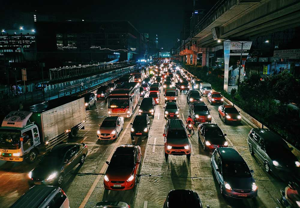 European traffic monitored through citizen scientists