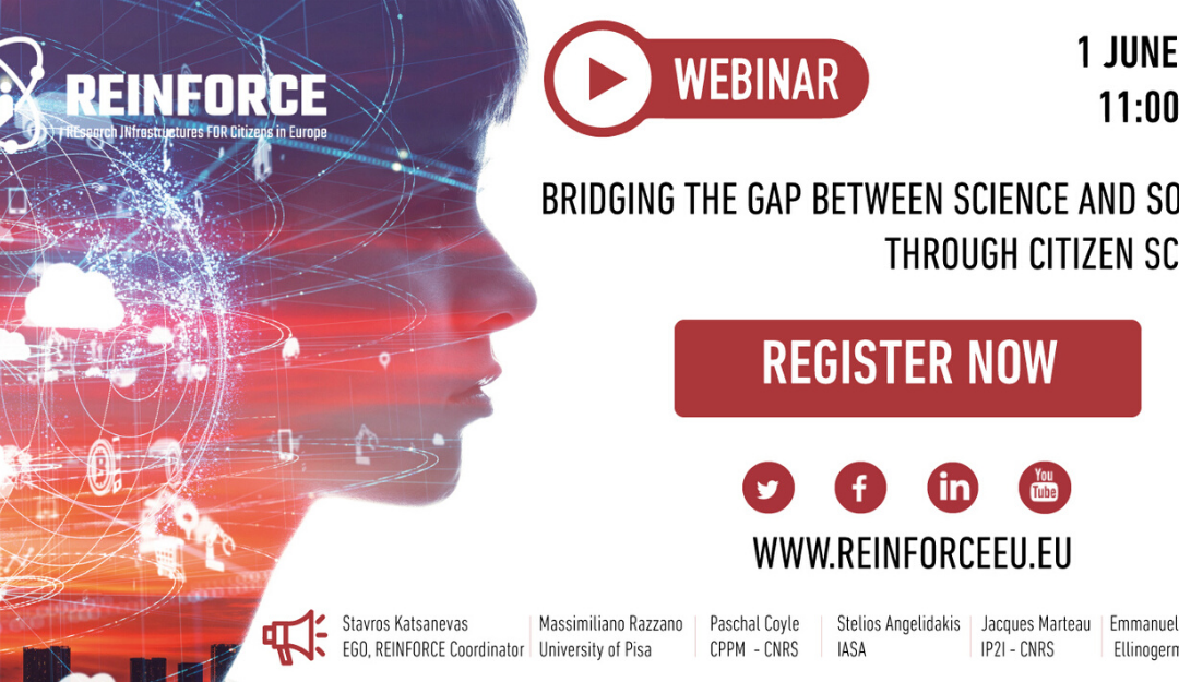 REINFORCE –  Bridging the gap between Science and Society through Citizen Science