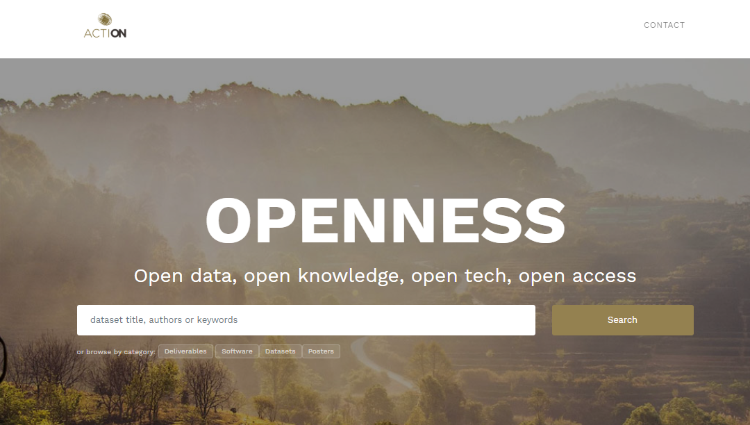The Ontology Engineering Group deploys the first version of the open data portal for ACTION