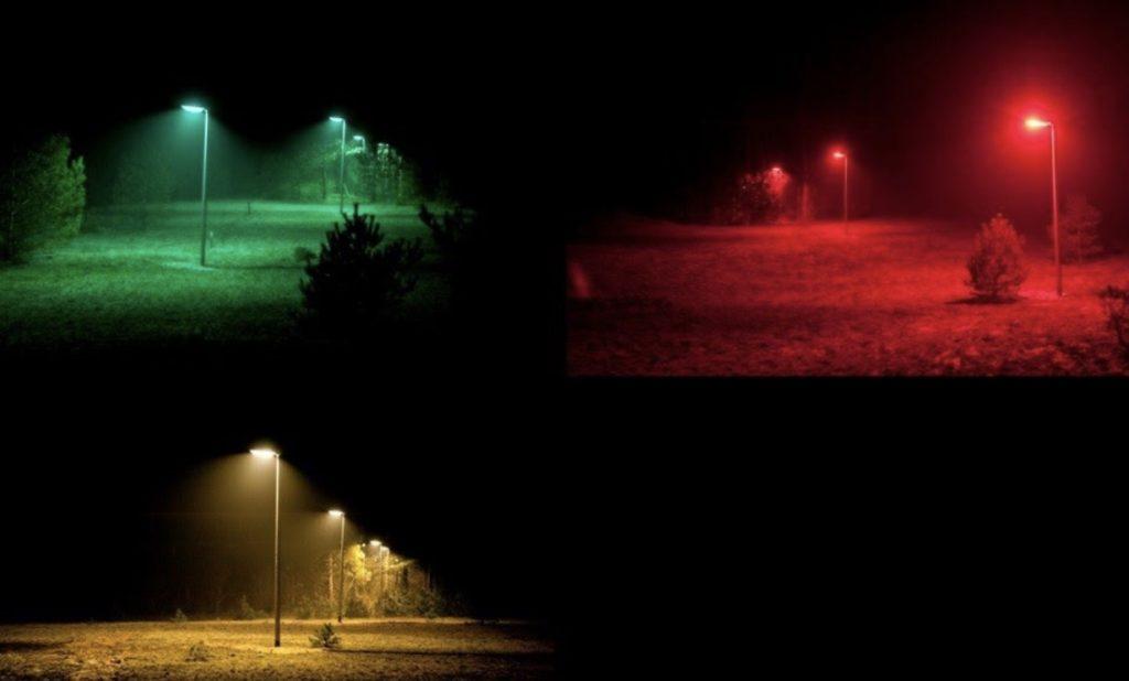 Fewer moths because of light pollution