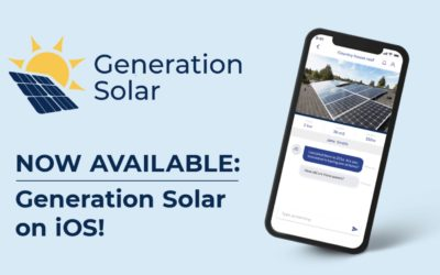 iOS version of GRECO Citizen Science App Generation Solar is out