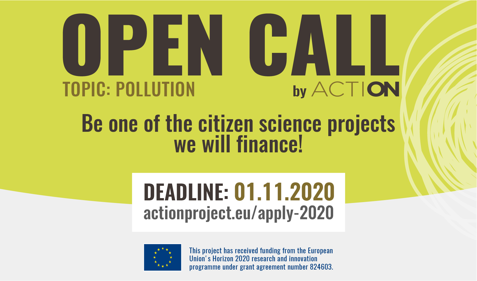 ACTION 2020 Open Call starts today