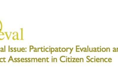 Call for Papers – Participatory Evaluation and Impact Assessment in Citizen Science