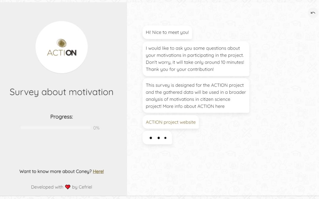 Survey about motivation