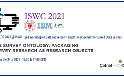 Paper about the Survey Ontology accepted at the DaMaLOS 2021 workshop (co-located with ISWC 2021)